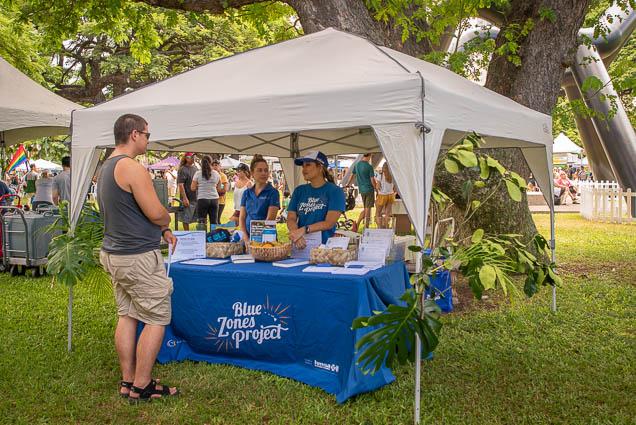 blue-zones-project-fokopoint VegFest Oahu 2019