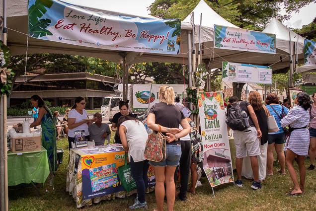 down-earth-kailua-fokopoint VegFest Oahu 2019