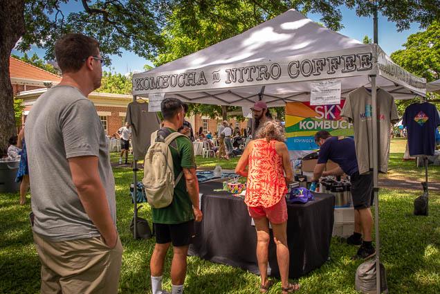 sky-kombucha-nitro-coffee-fokopoint VegFest Oahu 2019