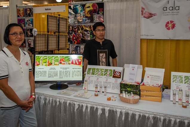 aala-scientific-skincare-honolulu-fokopoint-1168 Food and New Product Show at the Blaisdell