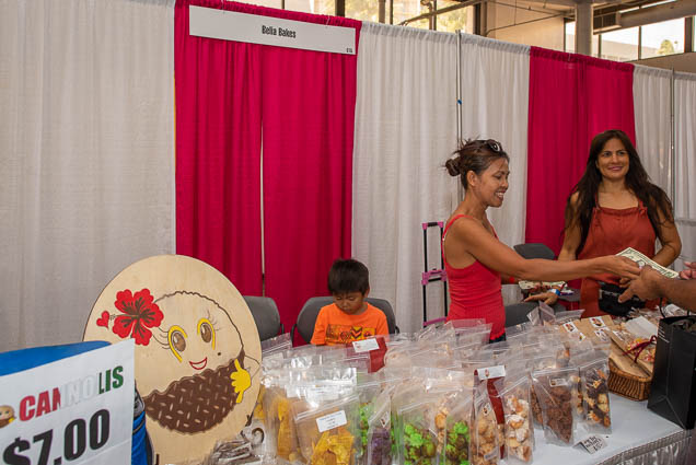 belia-bakes-fokopoint-1147 Food and New Product Show at the Blaisdell