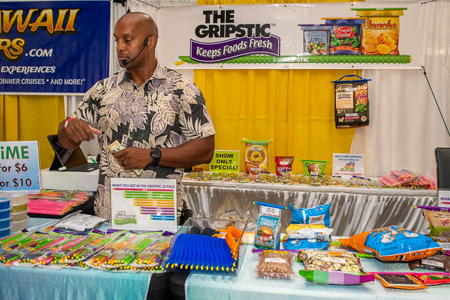 gripstic-keeps-foods-fresh-fokopoint-1161 Food and New Product Show at the Blaisdell