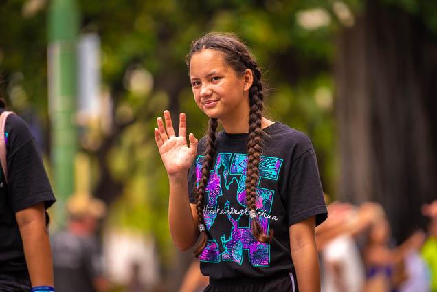 halauhiiakainamakalehua-miss-aloha-hula-floral-parade-2019-aloha-festivals-fokopoint-honolulu-9697 73rd Annual Floral Parade