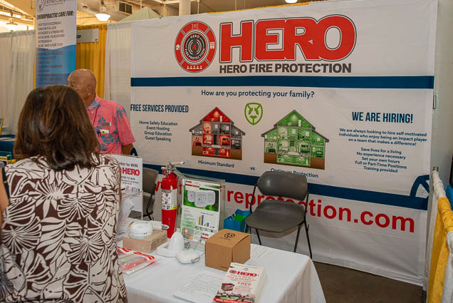 hero-fire-protection-food-new-product-show-fokopoint-1124 Food and New Product Show at the Blaisdell