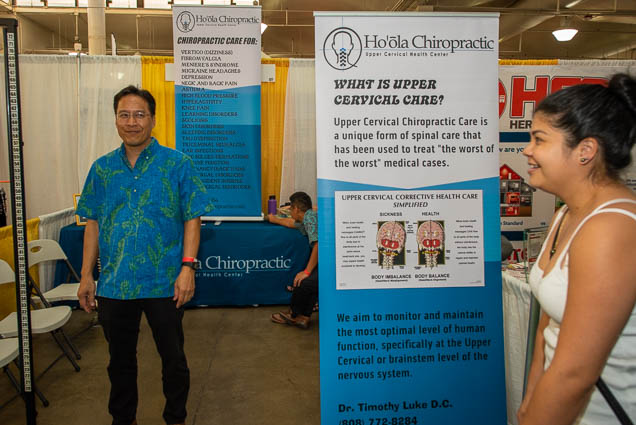 hoola-chiropractic-food-new-product-show-fokopoint-1123 Food and New Product Show at the Blaisdell