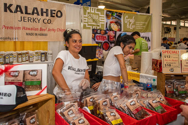 kalaheo-jerky-company-hawaiian-beef-chips-fokopoint-1189 Food and New Product Show at the Blaisdell