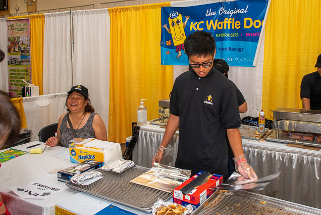 kc-waffle-dogs-fokopoint-1144 Food and New Product Show at the Blaisdell
