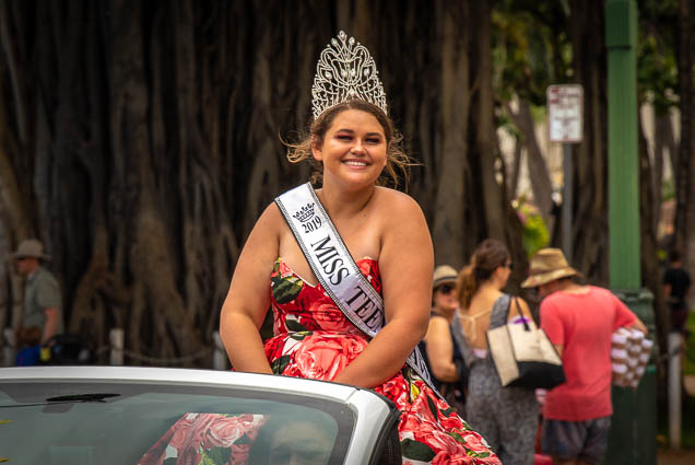 miss-hawaii-plus-floral-parade-2019-aloha-festivals-fokopoint-honolulu-0197 73rd Annual Floral Parade