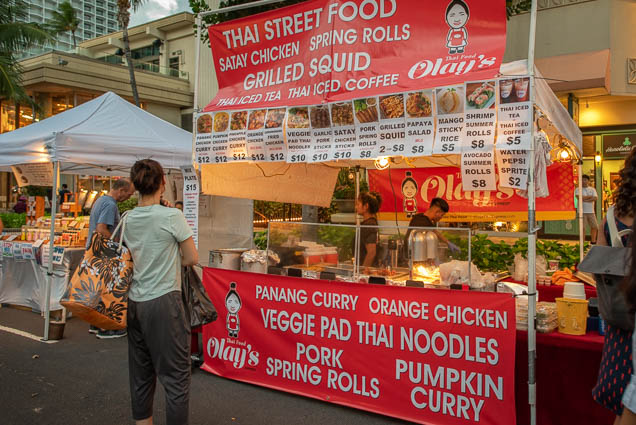 olays-thai-food-booth-fokopoint-1290 Waikiki Bazaar Festival