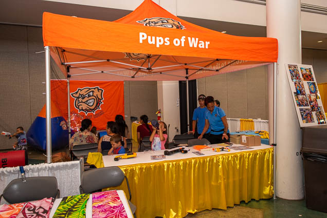 pups-war-honolulu-fokopoint-1179 Food and New Product Show at the Blaisdell