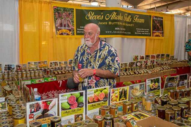 steve-akaka-falls-farm-jams-butters-honey-fokopoint-1127 Food and New Product Show at the Blaisdell