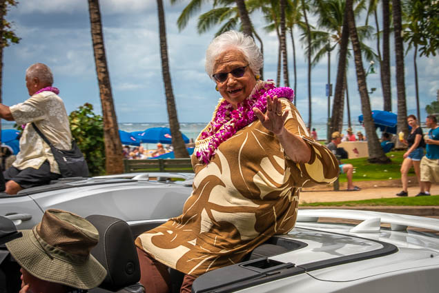 toni-lee-parade-chair-floral-parade-2019-aloha-festivals-fokopoint-honolulu-0218 73rd Annual Floral Parade