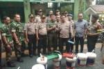 Wujud Sinergitas TNI-Polri, Polsek Kebon Jeruk Geruduk Kantor Koramil