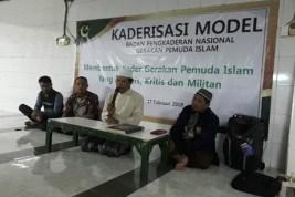 Tegakkan Izzul Islam Wal Muslimin, PP GPI Gelar Kaderisasi Model