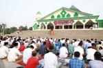 Bupati Tulangbawang Sholat Idul Adha di Masjid Islamic Center Menggala