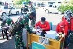 Seluruh Anggota TNI Kodim 1011 Klk Jalani Rapid Test