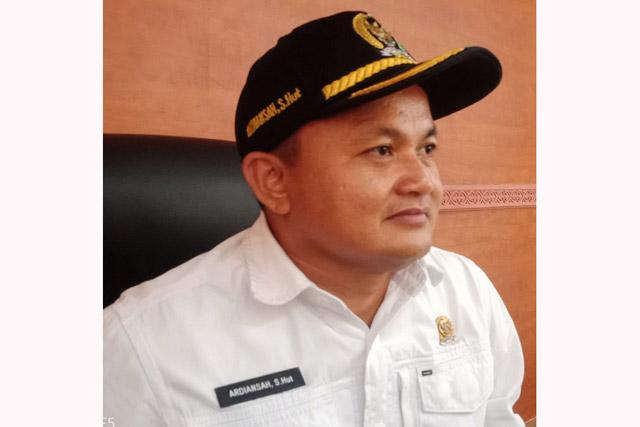 Ketua DPRD Kapuas Sampaikan Keprihatinan ke Korban Kebakaran Pasar Pujon