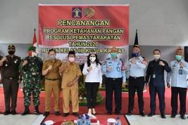 Rutan Kelas IIB Kuala Kapuas Canangkan Program Ketahanan Pangan