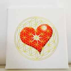 Tablou Inima si Floarea Vietii