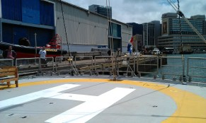 Helicopter pad!