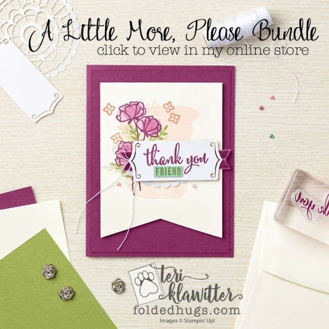 Share What You Love Just Getting Started Bundle by Stampin' Up! 2018-2019 Annual Catalog Early Release #terriklatwitter
