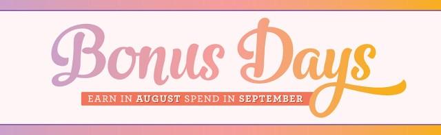 Bonus Days Are Back.  Spend $50 Get $5