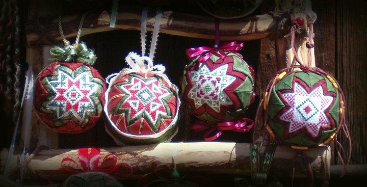Folded Star Ornaments