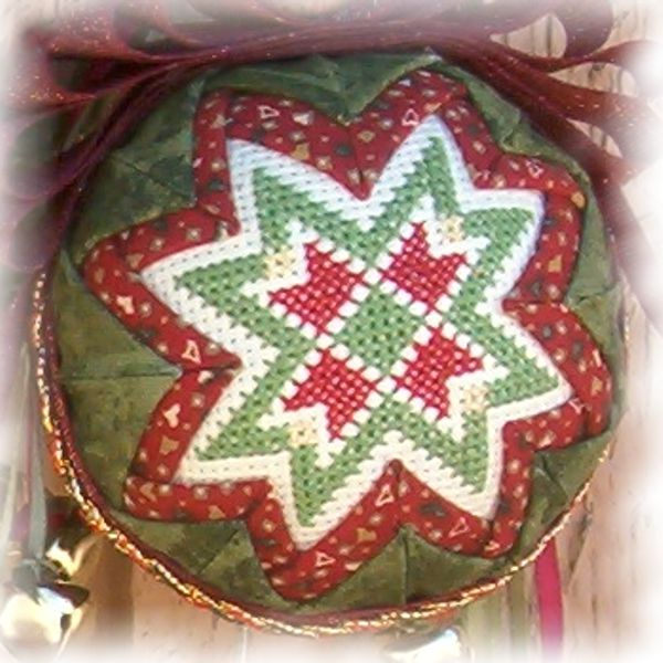 Red Folded Star Ornament