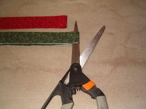 Cut Fabric in Half
