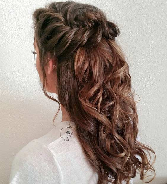 Image Result For Down Long Hairstyles