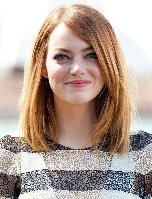 14 best hairstyles for round faces - folder