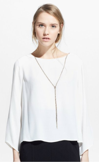 PENDANT FLOWY BLOUSE 1990 mng
