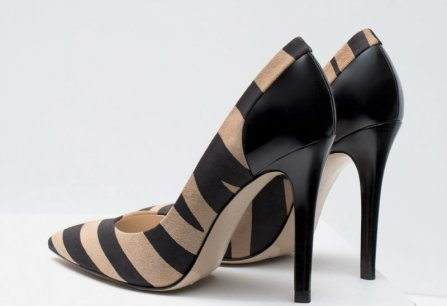 LEATHER HIGH HEEL z