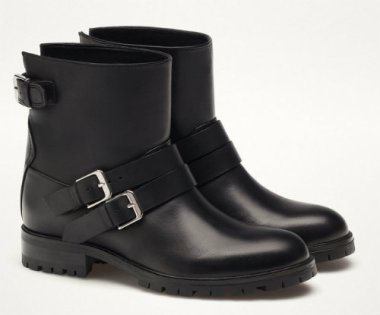 MD BUCKLED BIKER BOOTS 14990