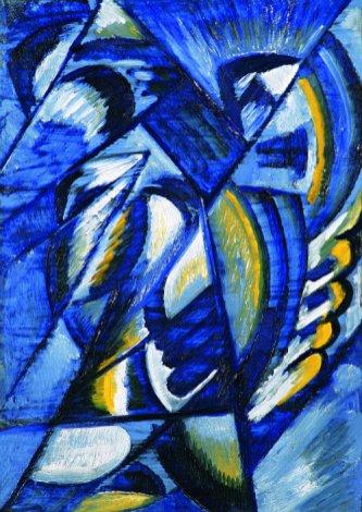 Rosanova- Blue on Tin