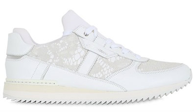10MM LACE & LEATHER SNEAKERS dg