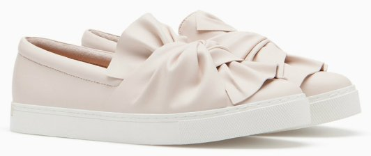 strd SLIP ONS WITH BOW TRIM 3290