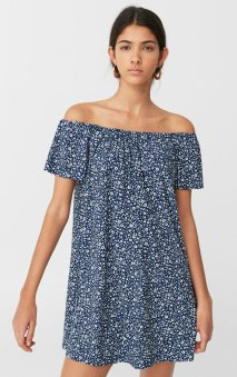 1490 mng Off-shoulder dress