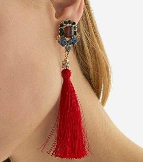 1 str 599 Tassel earrings