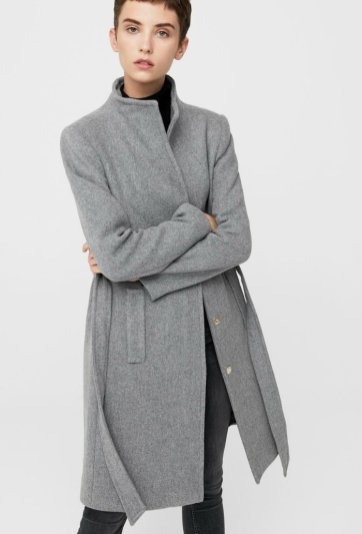 Belted wool coat 15990 (2)