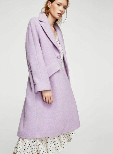 Lapels wool coat 8990