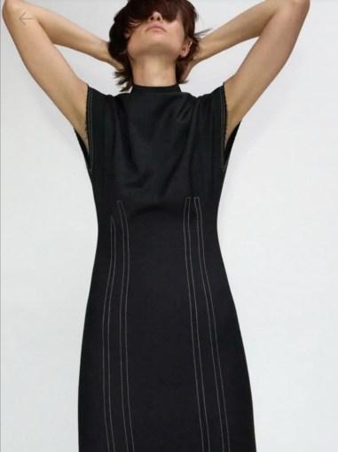 Z haljina sa šavovima 6590