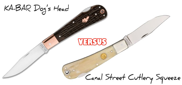 kabar dogs head vs canal street squeeze