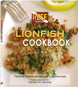 New item, Reef Lionfish Cookbook