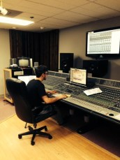 Recording Engineer Adam Stamper