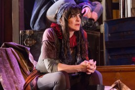 Rachel Zampelli as a Tragedian. Photo by Teresa Wood.