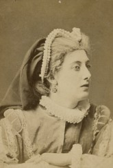 """Mrs. Rousby in Tom Taylor's play, """"Twixt axe and crown"""", as Princess Elizabeth. 1870."""