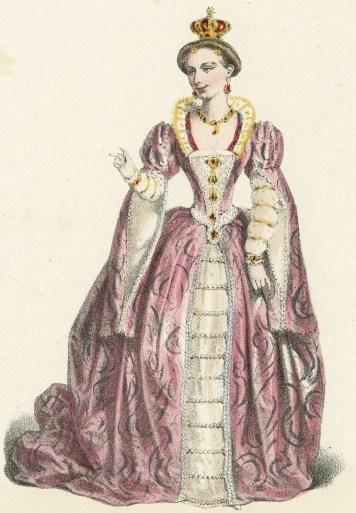 Mme. Ugalde rôle de la reine Élizabeth dans [Ambroise Thomas'] Le songe d'une nuit d'été (3e acte): Galerie dramatique; Theâtre de l'opera comique. mid to late 19thc.