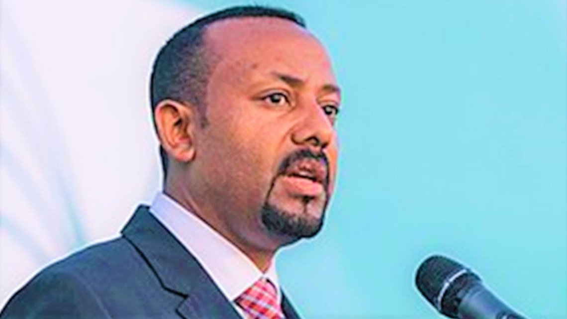 Primeiro-ministro da Etiópia vence o Prêmio Nobel da Paz