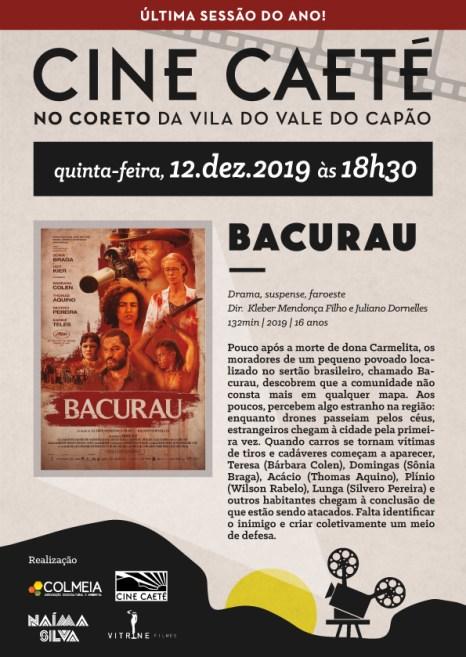 Cine Caeté exibe Bacurau no Vale do Capão